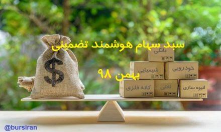 بروزرسانی جدید سبد سهام هوشمند تضمینی بهمن 98
