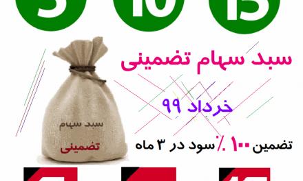 آغاز فروش سبد سهام تضمینی خرداد 99