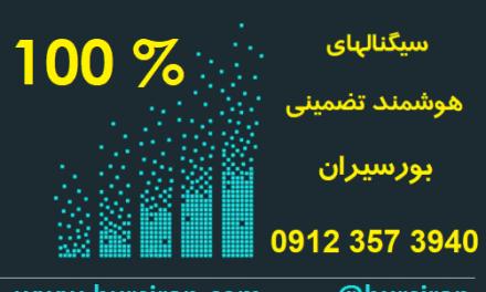 سیگنال هوشمند تضمینی 10 خرداد