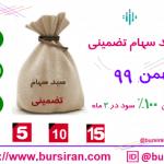 آخرین مهلت خرید سبد سهام تضمینی بهمن 99